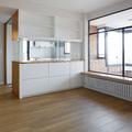 Vista hacia cocina y terraza