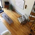 vistas del salón desde el dormitorio