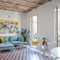 Vivienda colorida en Barcelona
