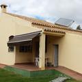 Vivienda con placas solares para ACS
