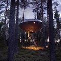 ovni casa de árbol