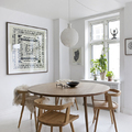 mesa comedor nórdica