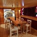 Zona de cata de vinos, bodega privada