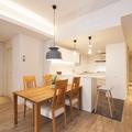 Zona de día con cocina abierta al salón comedor