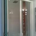 Zona de ducha columna y con mampara