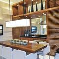 zona de lavado integrada en cocina abierta