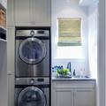 zona de lavado integrada en un armario de cocina