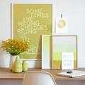 decorar zona de trabajo con mensajes positivos