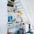 zona de trabajo hueco escalera
