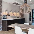 Cocina con madera de mambú