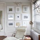 collage de fotos con marcos blancos