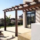 Terraza del jardín - Casa A   08023 Arquitectos - Barcelona