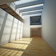 Infografía centro de arte en Valencia