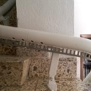 Instalación de una silla salva escaleras