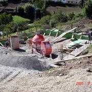 Construcción de casa de pueblo