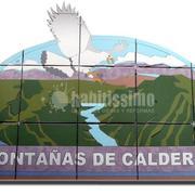 Mural Montañas de Caldera