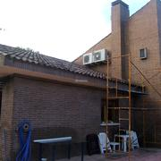 Instalación de equipos de aire acondicionado en unifamiliar