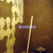 Reforma total baño y estanterías en Pladur