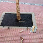 Pavimentos de caucho y alcorques