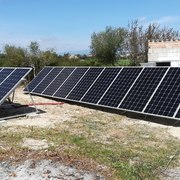 Instalación Fotovoltaica Aislada 5 KWp + Inversor 15 KW + 20Kwh LITIO