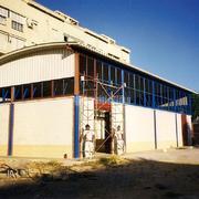 Construcción de Pabellón