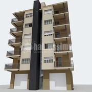 Instalación ascensor en fachada en Mataró