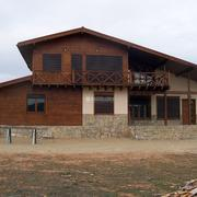 Casa de madera en Castralvo