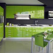 Muebles de cocina Yelarsan Modelo Look Verde