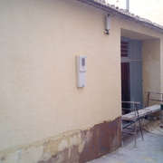 Remodelacion de casa vieja en mortero monocapa
