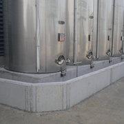 Construcción De Base Y Muro De Hormigón Para Cubeto Industrial
