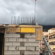 Acabamos la estructura en 4 meses desde el comienzo de la obra!!! 4 plantas de edificio