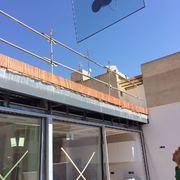Instalacion de vidrios en Carpinteria Cor-Vision ( Nules - Castellon )