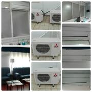 Instalación de aire acondicionado Mitshubishi