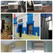 Instalacion aire acondicionado en una guarderia, Valencia