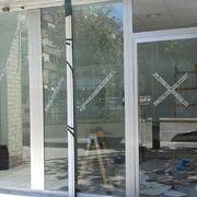 Proyecto clinica veterinaria aluminio plata y vidrio laminado en Valencia