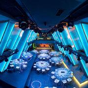 Ambiente restaurante en la discoteca