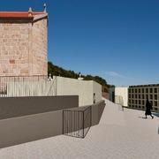 Ampliación de Cementerio en Cortegada, Silleda (Pontevedra). Vista 1