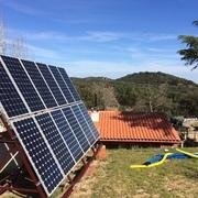 Ampliación del campo fotovoltaico.