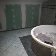 Baño de microcemento de cementdesign blancointenso material concret