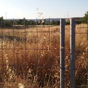 Desbroce de una  parcela en Guadalajara