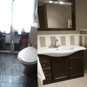 Antes y después baño