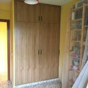 Renovación de los armarios de una casa en Teruel