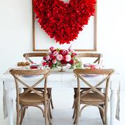 Arte en forma de corazón