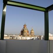 Azotea privativa con vistas a San Luís