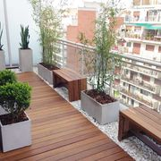 Balcón bancos