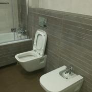 Baño 2 wc y bidé suspendido