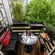 barbacoa balcón