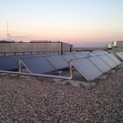 Mantenimiento correctivo en instalación solar térmica, Madrid