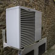 Aerotermia para agua caliente y calefacción por suelo radiante