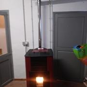 Calefacción de pellets.